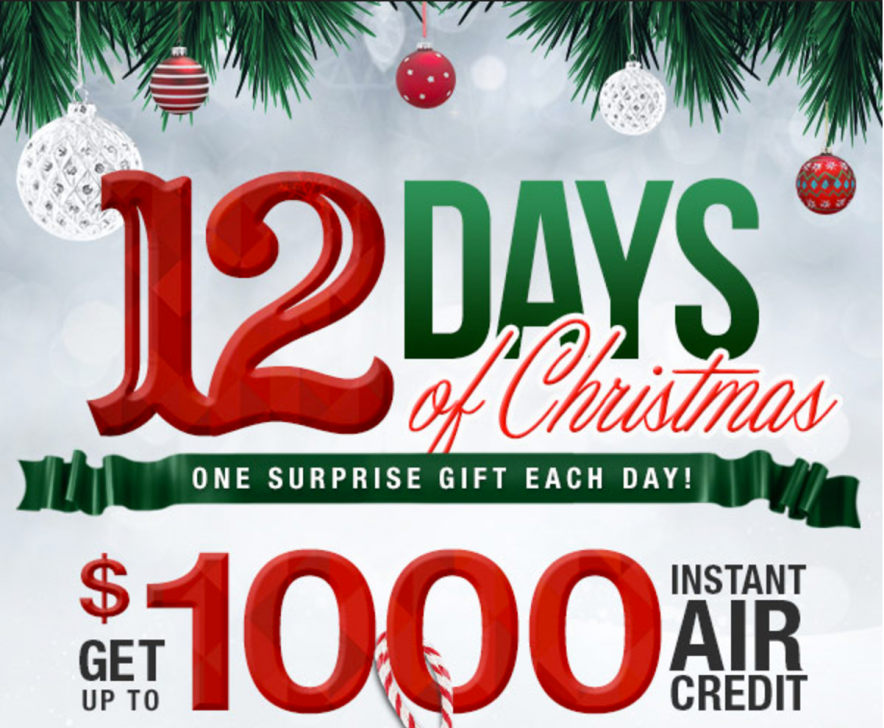 Sandals Resorts 12 Days of Christmas Sale