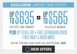 Sandals LaToc Promo Code Special Offer