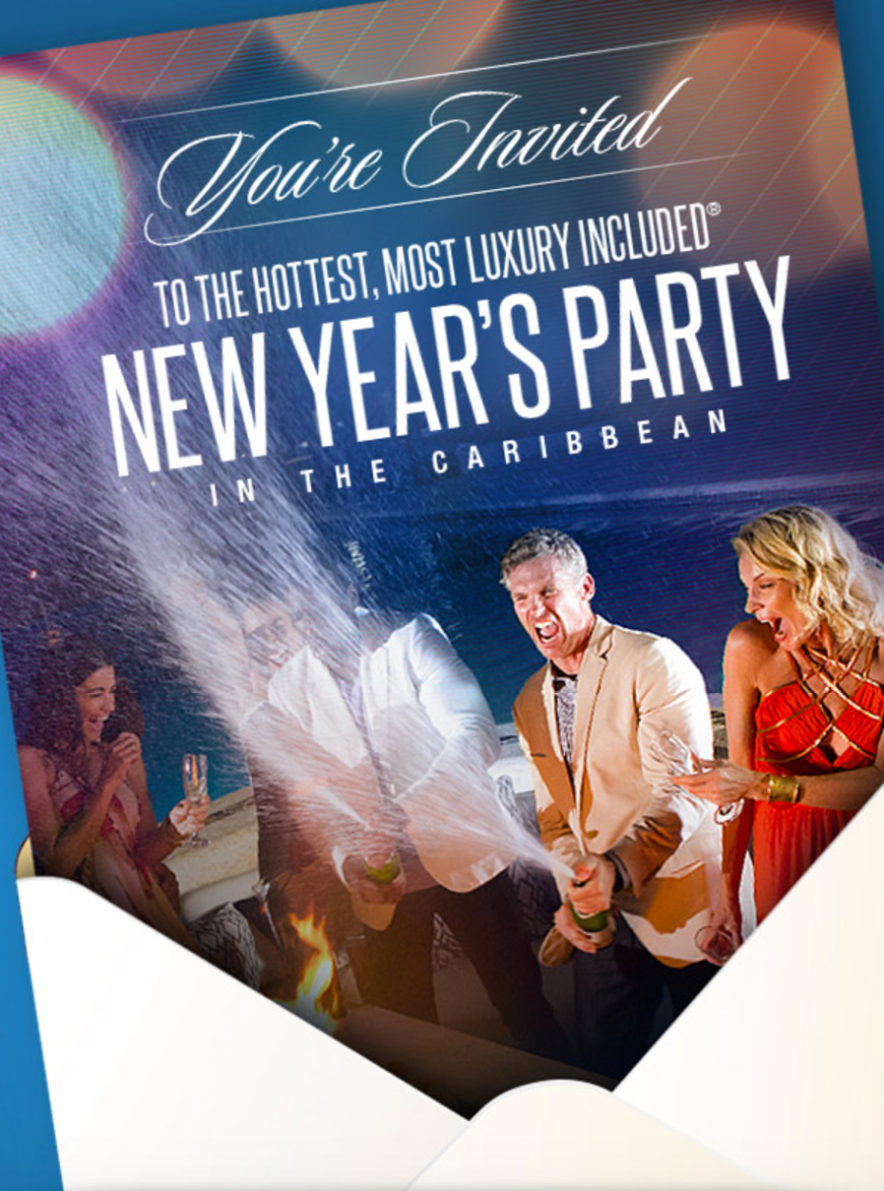 Sandals Resorts New Years NYE