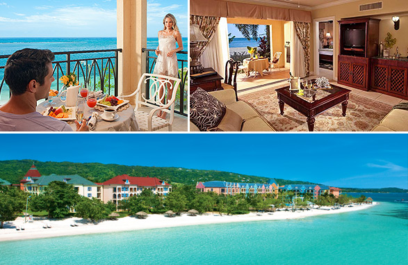 Sandals South Coast - Beachfront Rooms