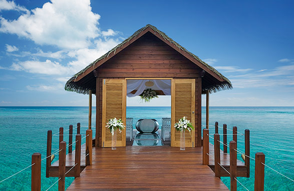Sandals South Coast- Overwater Wedding Chapel