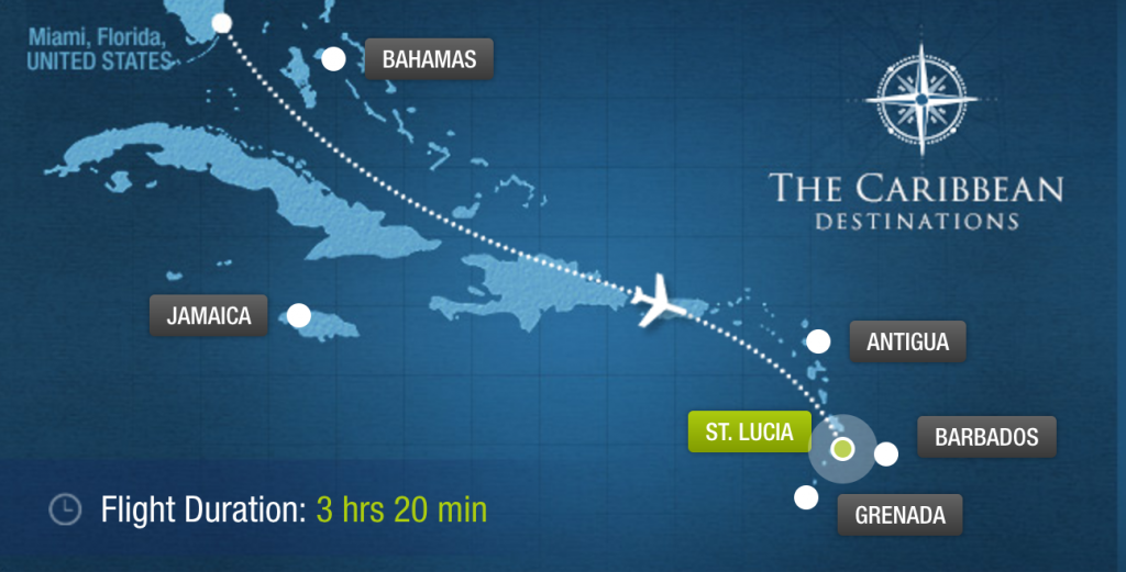 Sandals Vacation Planner - Location
