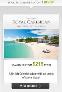 Sandals Vacation Planner - Sandals Royal Caribbean