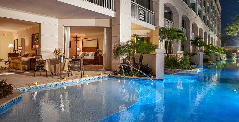 Sandals Swim Up Suites