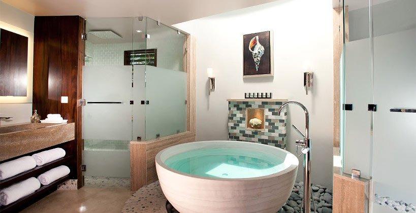 Sandals Resorts Rondoval Suite Bathroom