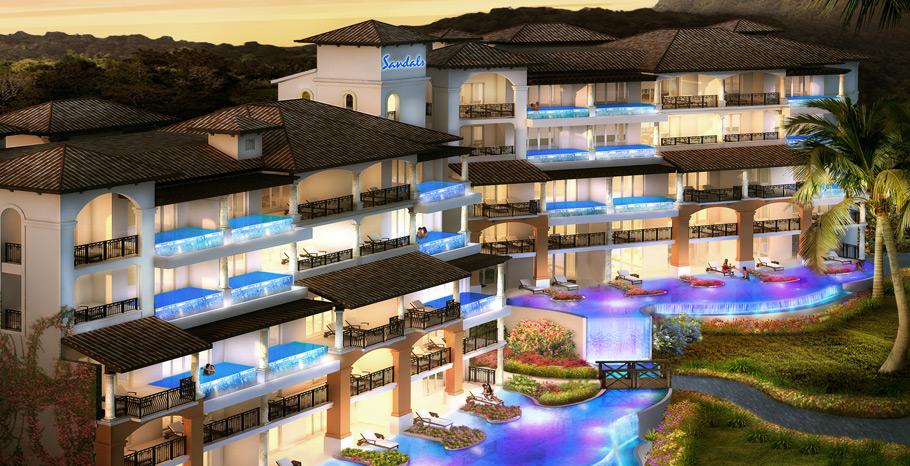 Sandals Skypool Suite Honeymoon Grenada Villae