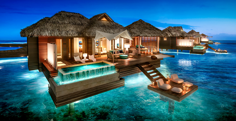 Over Water Suites Sandals Royal Caribbean
