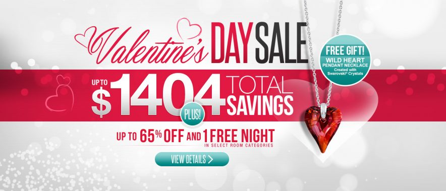 Sandals Resorts Valentine's Day Sale