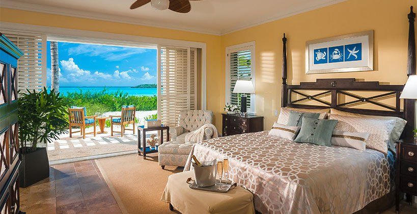 Walkout Beachfront Suite and Room Bahamas