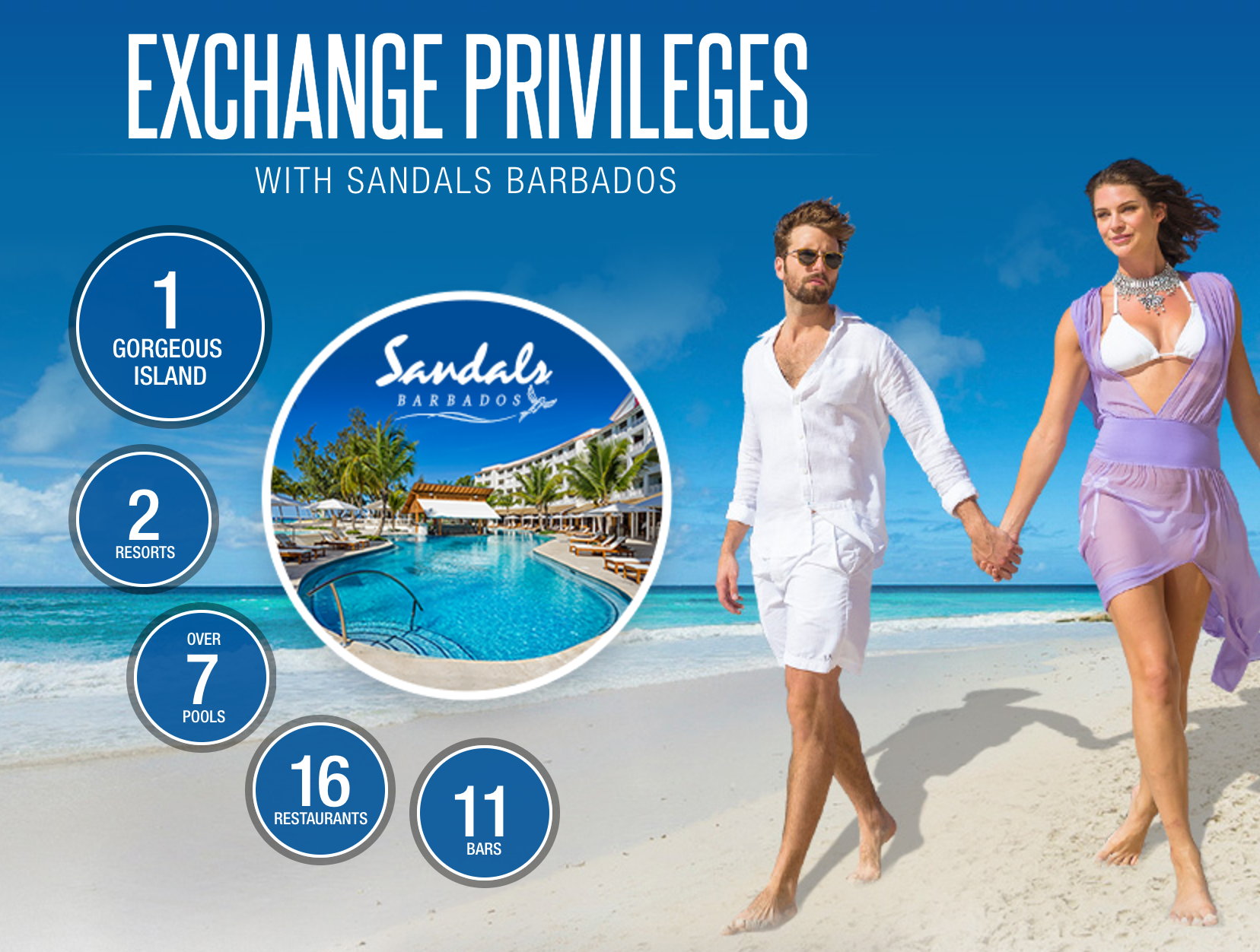 Sandals Royal Barbados Play at 1 Stay at 2