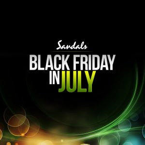 Sandals Black Friday Sale in July