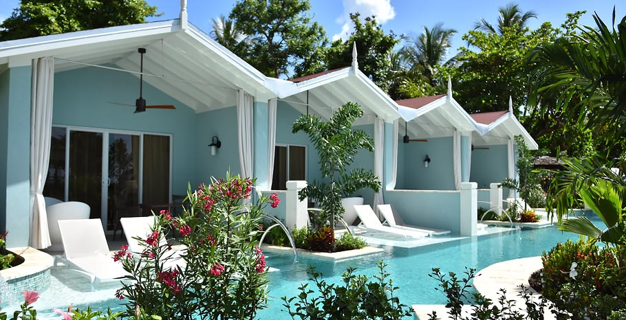 Sandals Halcyon Swim Up Suites St Lucia