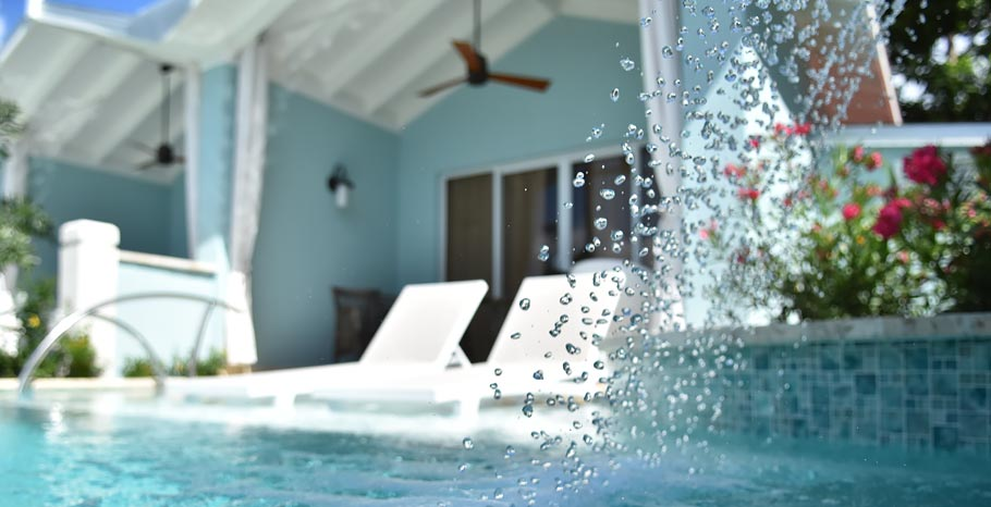 Sandals Halcyon Swim Up Suites St Lucia Water