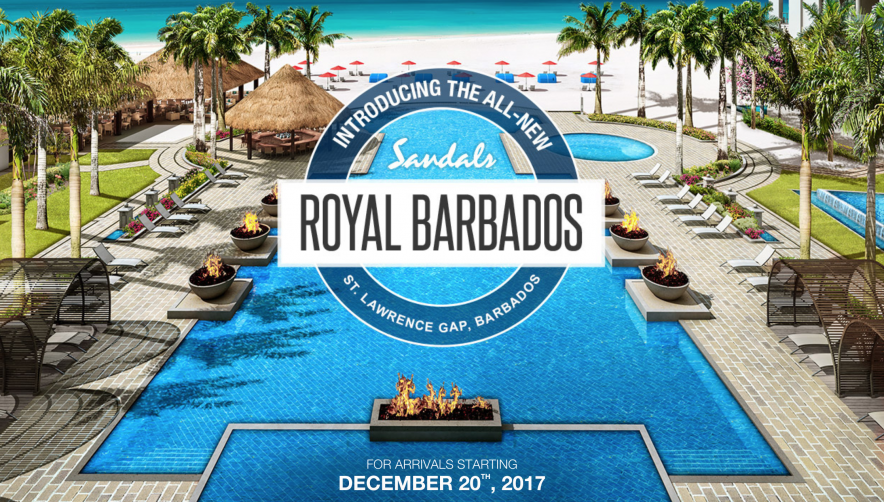 New Sandals Royal Barbados