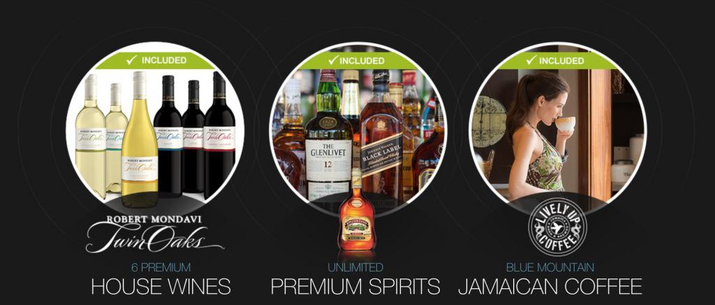 Sandals Royal Barbados Bar Inclusions