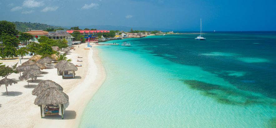 Beach at Sandals Montego Bay