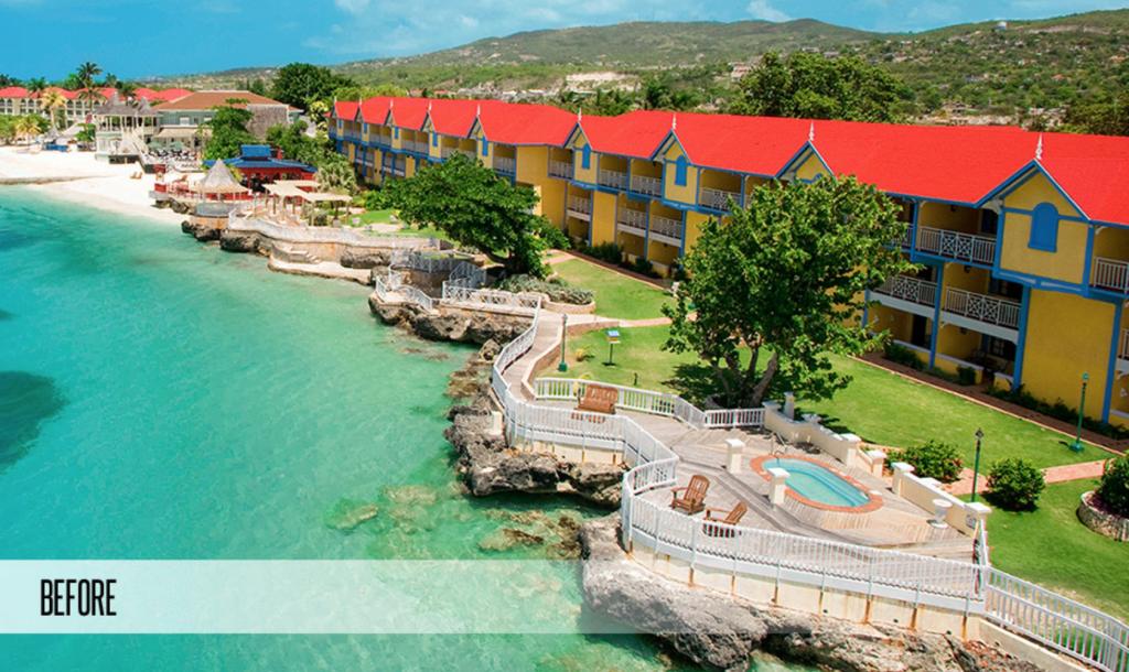 Sandals Montego Bay Resort Almond Block Before