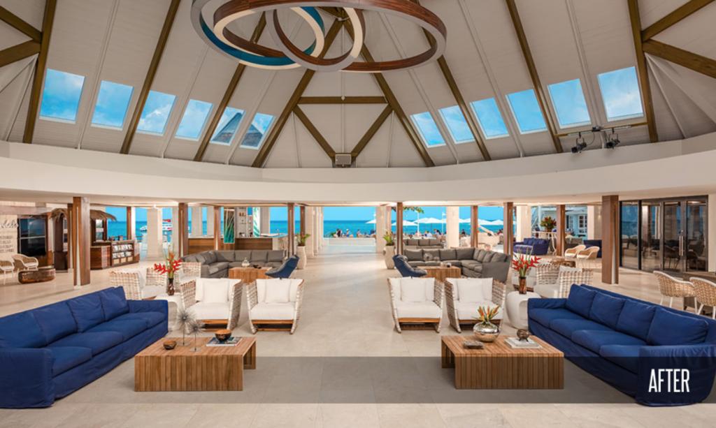 Sandals Montego Bay Resort Lobby After