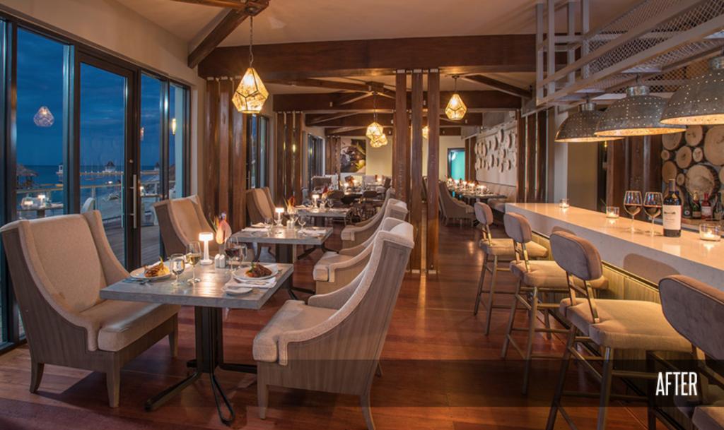 Sandals Montego Bay Resort Oleander Restaurant After