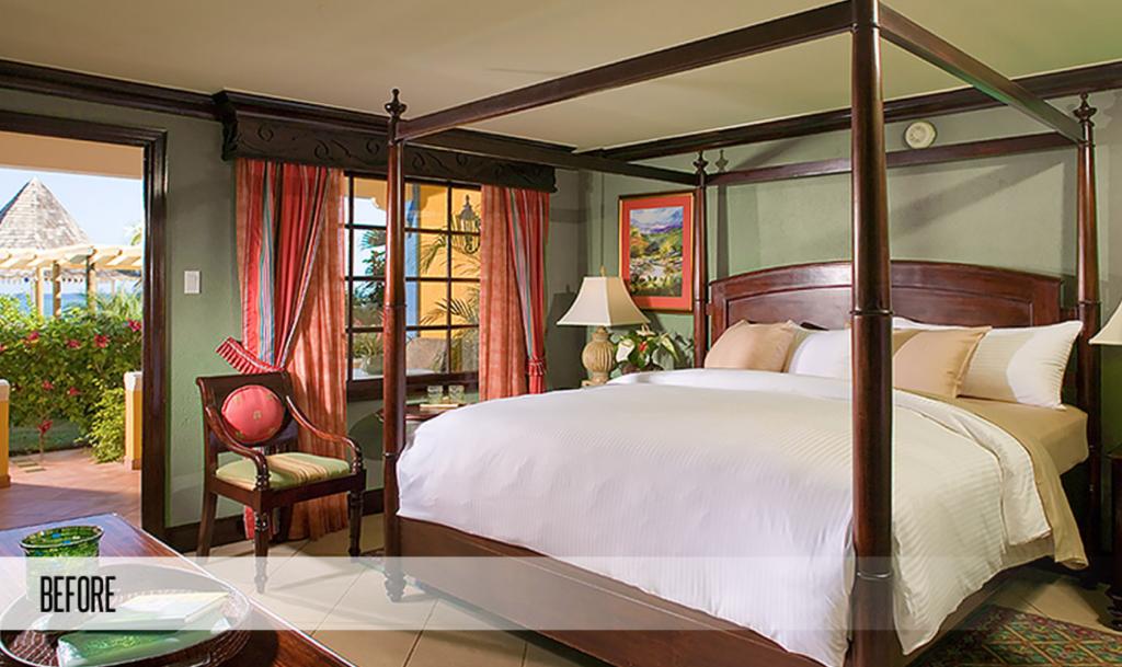 Sandals Montego Bay Resort Swim Up Butler Suites Before