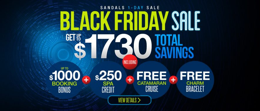 d77714eef973db Sandals Resorts Black Friday 2017 Sales Released!