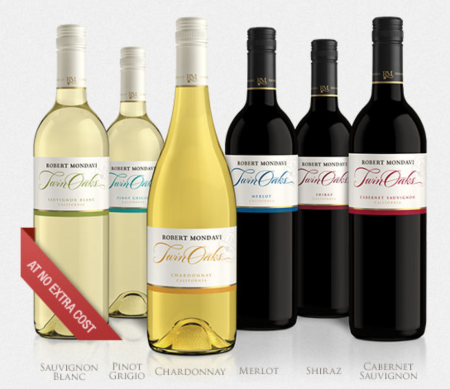 Sandals Resorts Wine Selection